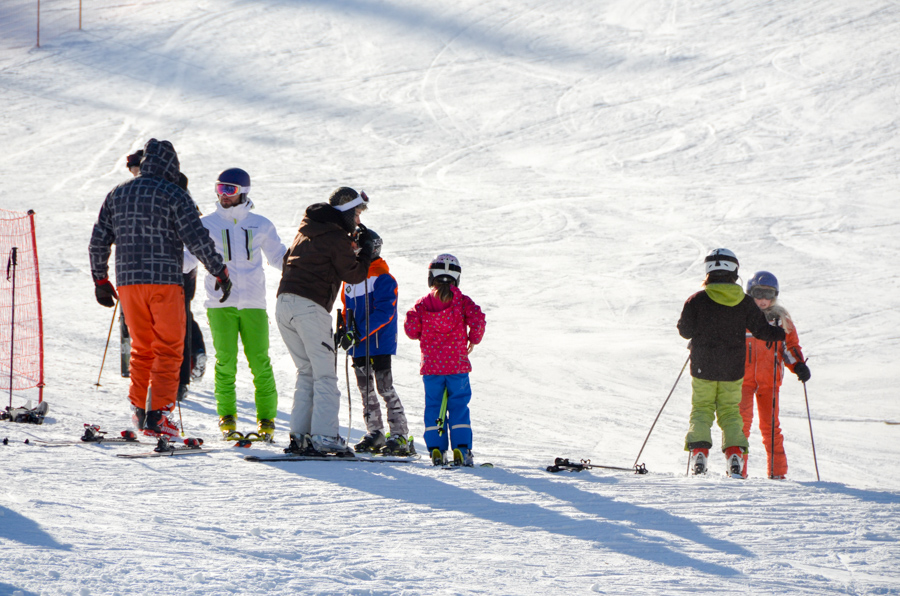 skijanje ravna planina