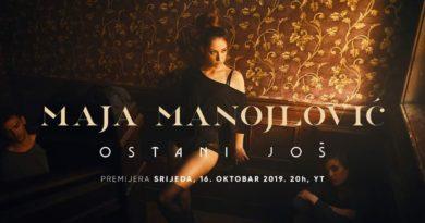 """Maja Manojlović predstavila pjesmu """"Ostani još"""" i dobila brojne pohvale"""