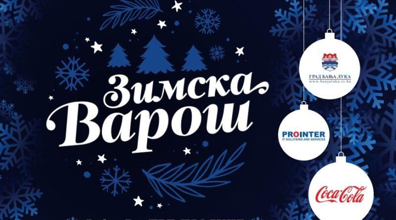 """Od danas """"Zimska varoš"""" na Trgu Krajine u Banjaluci"""