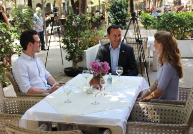 Ćurić razgovarao sa princom Filipom Karađorđevićem o potencijalnim projektima u oblasti kulture