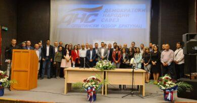 Nešić: Na listi DNS-a Bratunac nalaze se ljudi koji su spremni da vrijedno rade za građane ove opštine