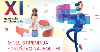 Otvoren konkurs za m:tel stipendije!