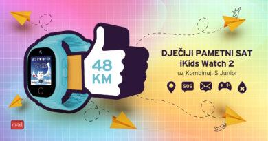 iKids Watch i Kombinuj:S Junior za bezbrižne roditelje i sigurnu djecu