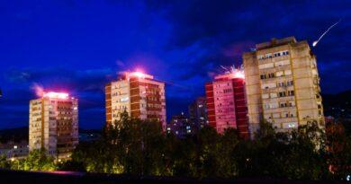 Lešinari iz Borika proslavili 15. rođendan uz vatromet i baklje