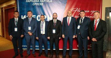 DARKO BANJAC PREDSJEDNIK Održana Izborna skupština Narodne partije Srpske