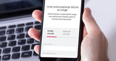 Najbolje mjesto za plaćanje m:tel računa – www.mtel.ba